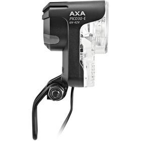 Axa Pico 30 E Hoofdlamp 6V-42V voor e-bikes met aan/uit schakelaar